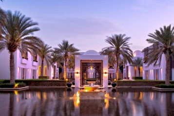 Affordable 5 Star Treatments at the Chedi, Muscat